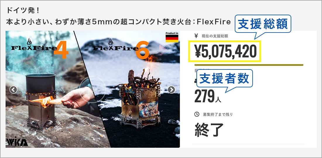 ドイツ発!本より小さい、わずか薄さ5mmの超コンパクト焚き火台:FlexFire
